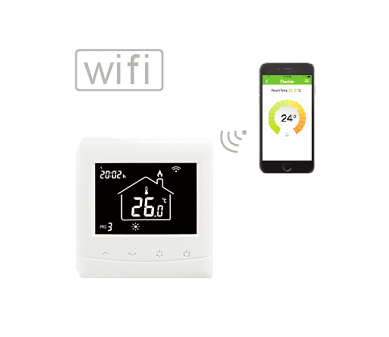 HT-08W Wifi Thermostat