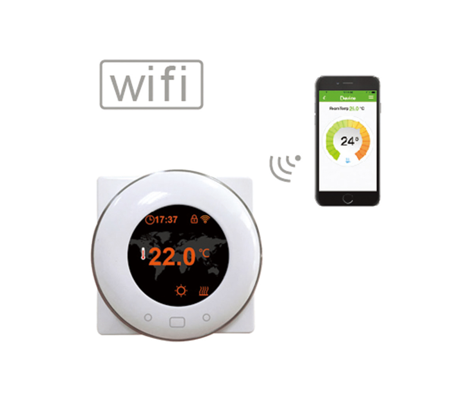 HT-CS06W Wifi Thermostat