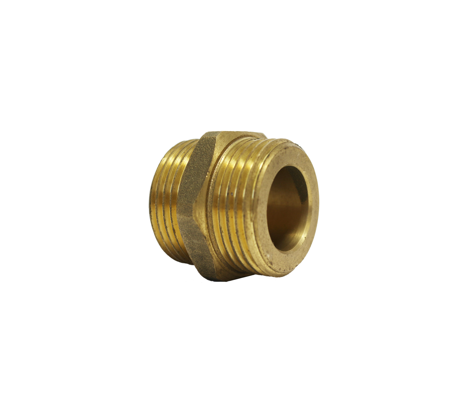 """Nipple male thread with flat seat for corrugated steel pipe 3/4""""×3/4"""""""