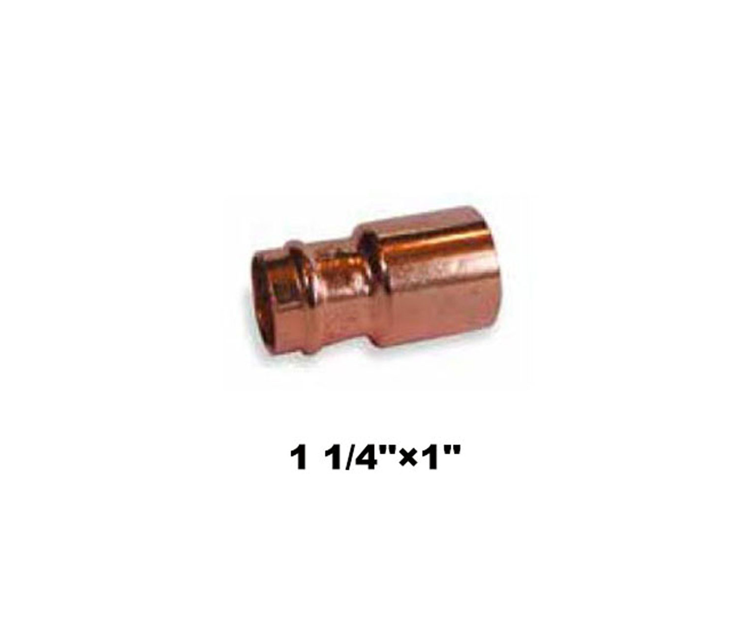 "Compression Fitting Reducer 1 1/4""×1"" (19043)"