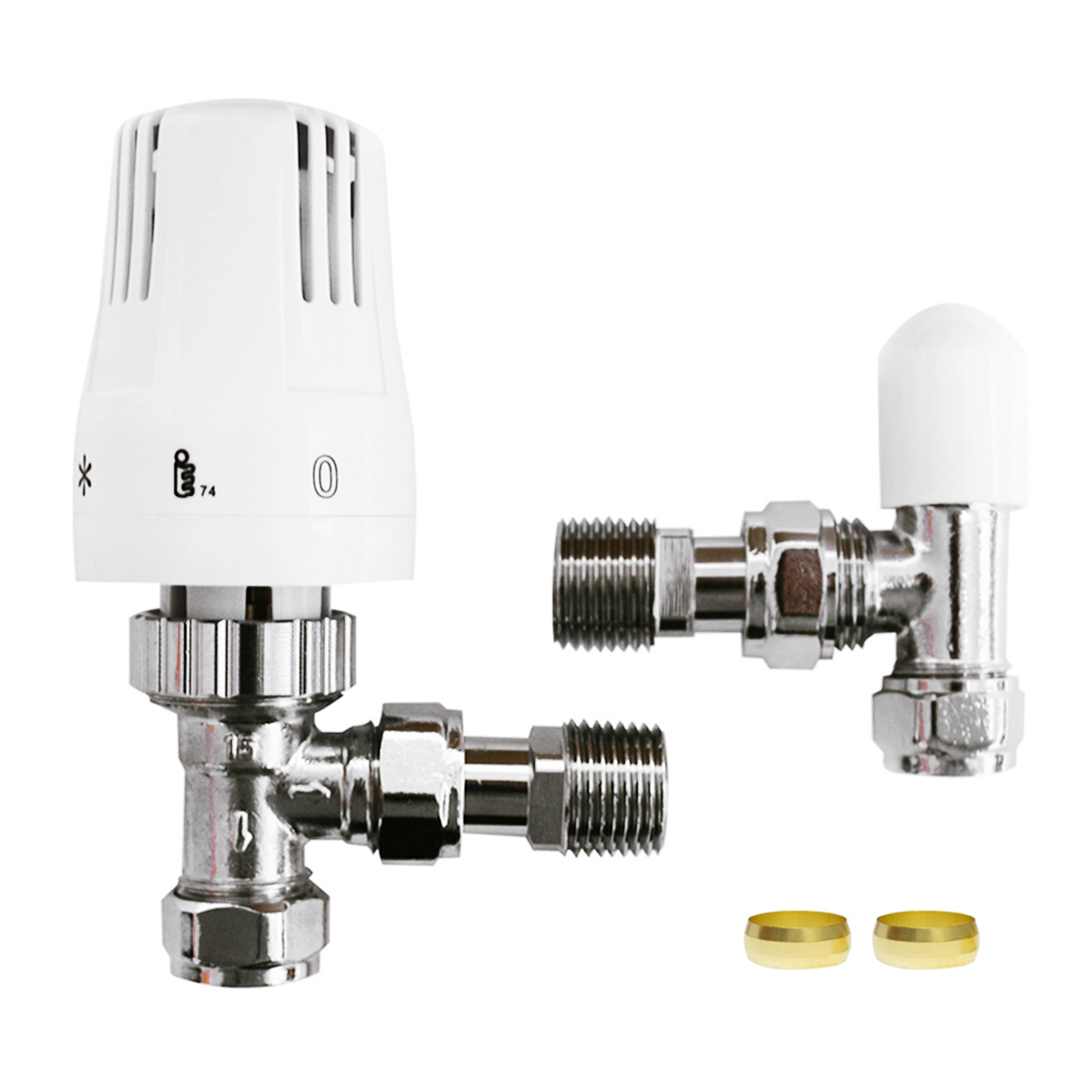 Best Thermostatic Radiator Valves  Angled Connection-030C