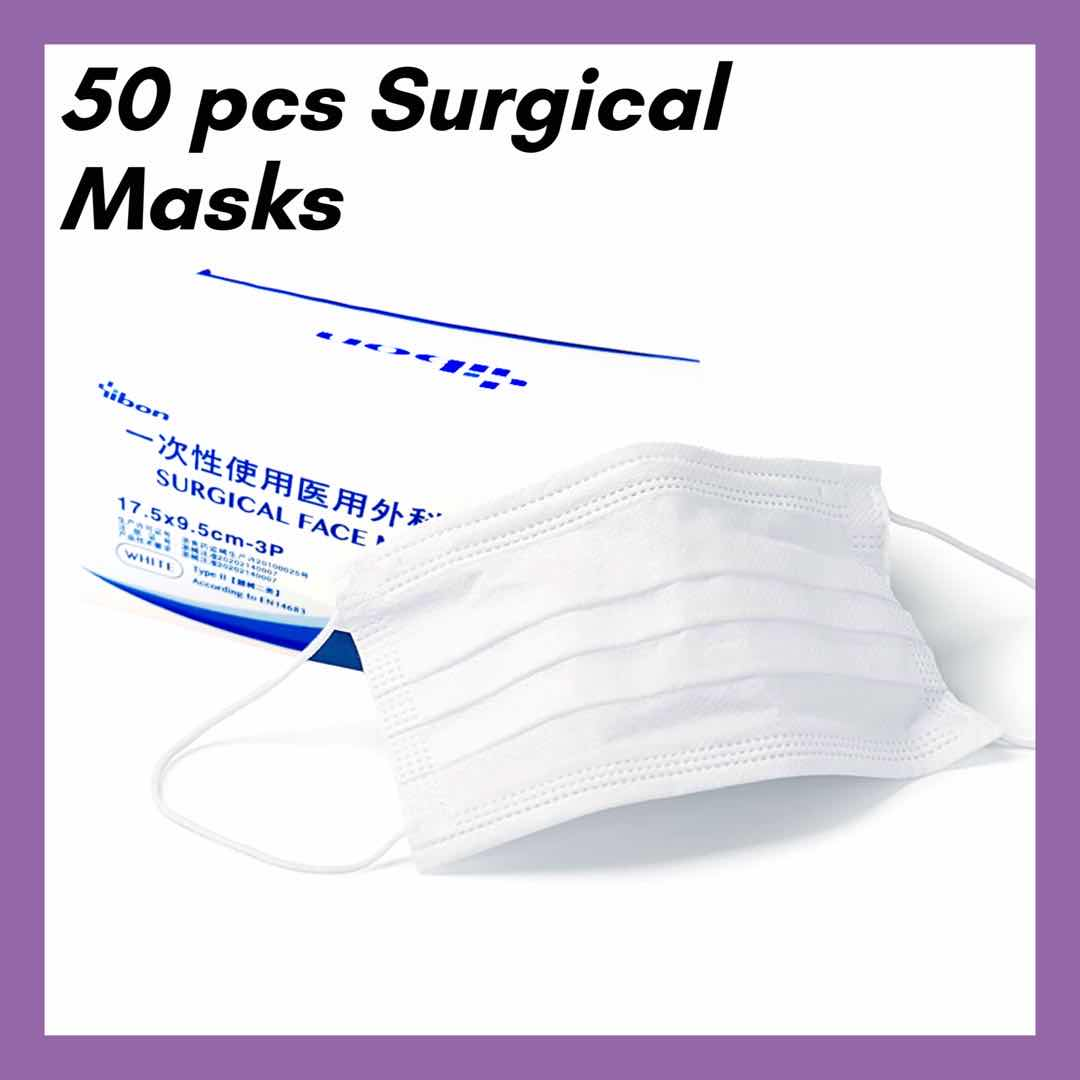 Medical Surgical Face Masks 50 pcs, Face Coverings Ireland to Buy, Face Masks Ireland Online