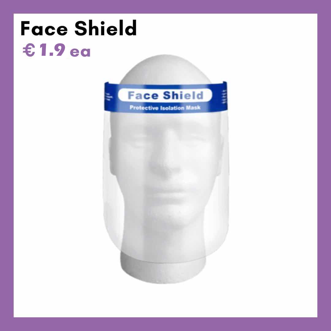 100 x Face Shield