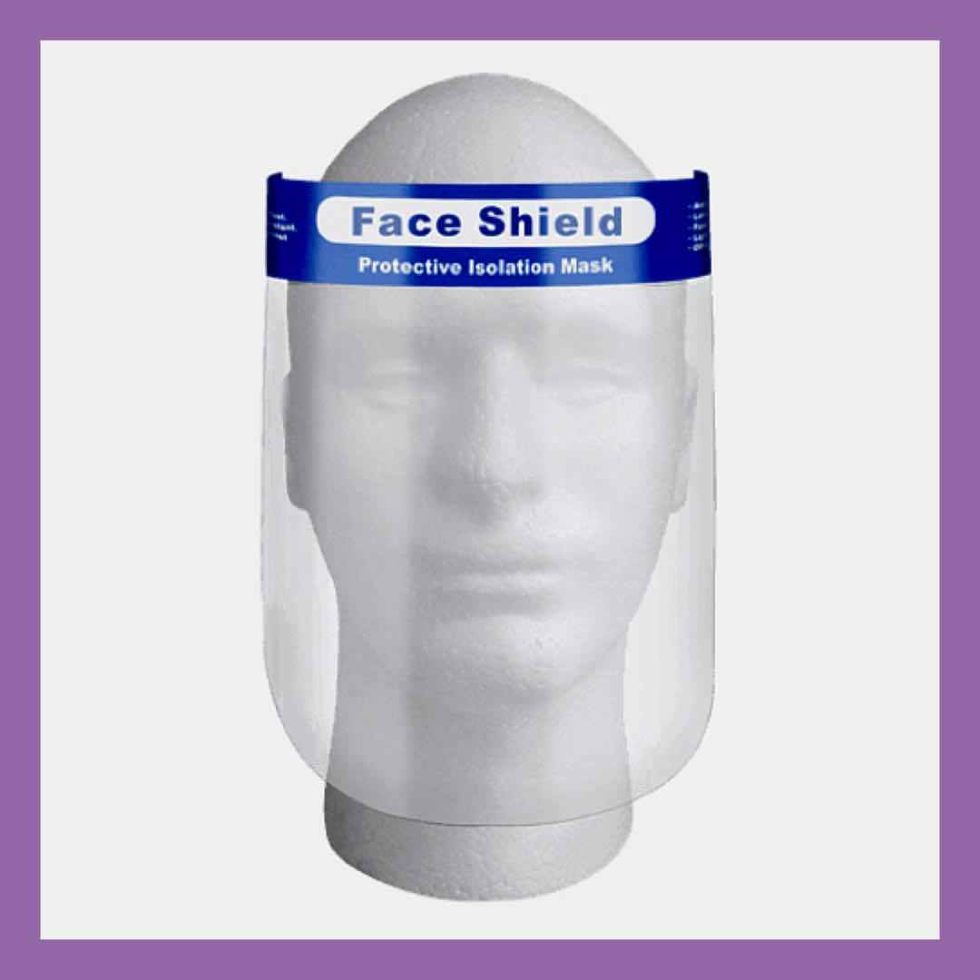 Face Shield Ireland, Face Coverings Online, Face shields for sale Ireland & Dublin