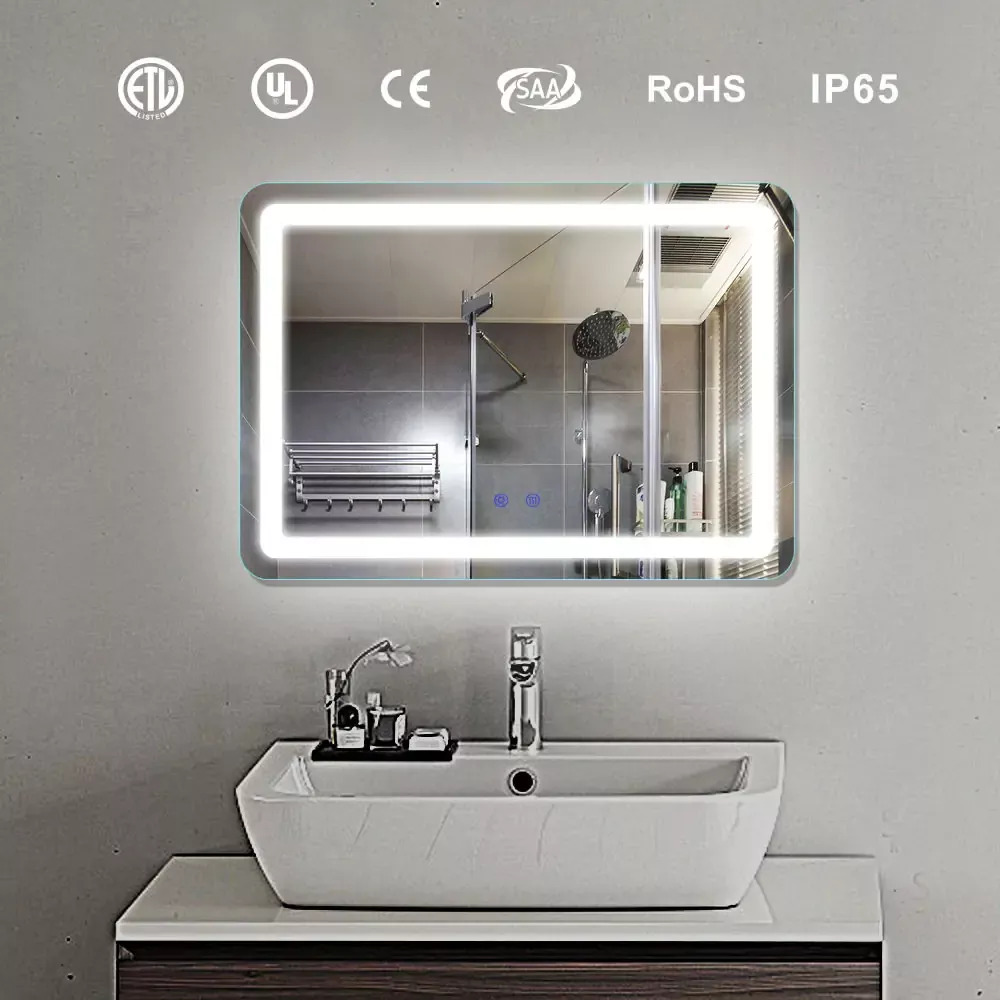 LED & Fog Free Bathroom Mirror DP339A 700x500mm