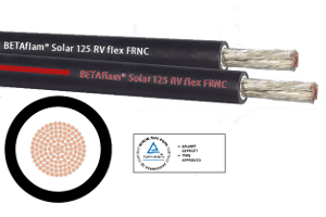 4mm Solar Cable 10m Length - Red Stripe